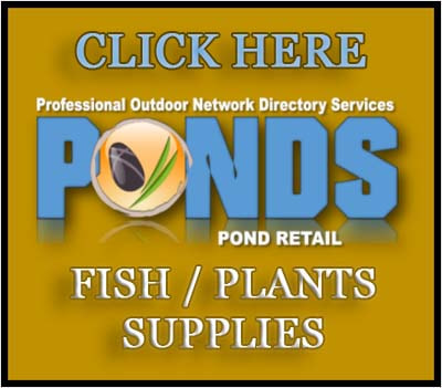 Pond Supplies Retailers